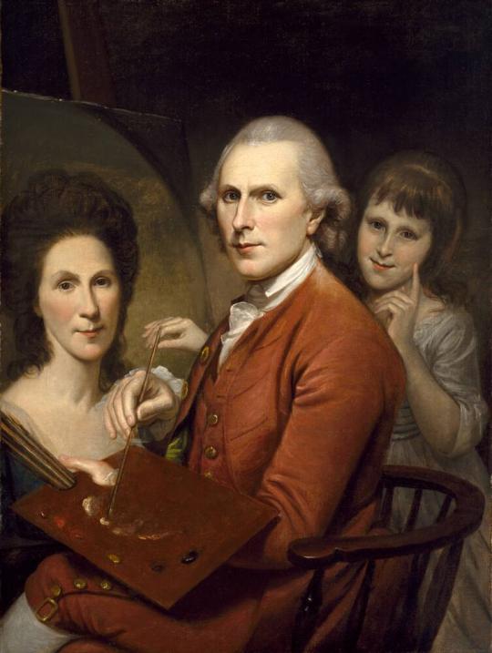 アンジェリカの自画像とレイチェルの肖像